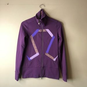 Lululemon origami stride purple zip up jacket 4
